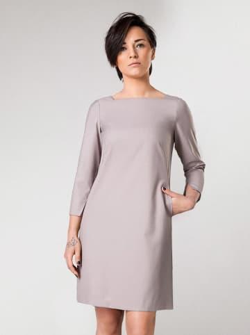Molton Sukienka w kolorze beżowym