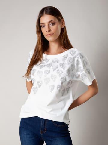 Molton Bluzka w kolorze białym