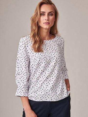 TATUUM Bluzka w kolorze białym ze wzorem