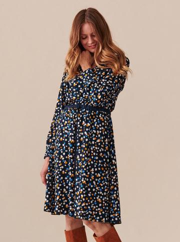 TATUUM Sukienka w kolorze granatowym ze wzorem