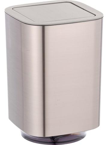 """Wenko Kosz """"Auron"""" w kolorze srebrnym na śmieci - 5,5 l"""