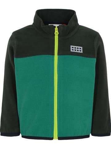 """Legowear Fleece vest """"Sagar"""" groen"""