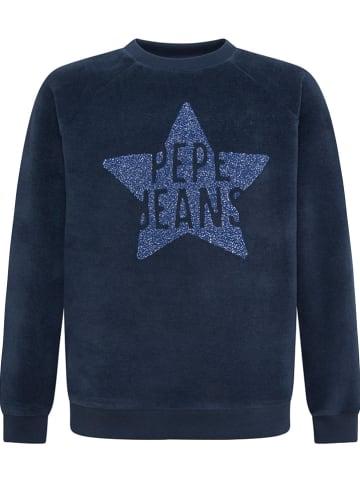 Pepe Jeans Sweatshirt donkerblauw