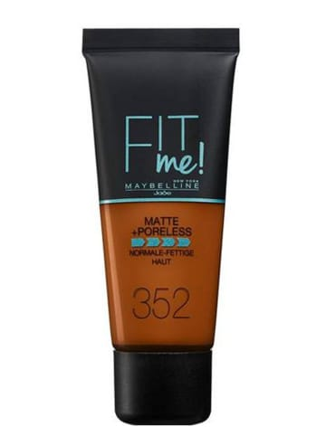 "Maybelline Foundation ""Fit Me - 352 Cacao"", 30 ml"