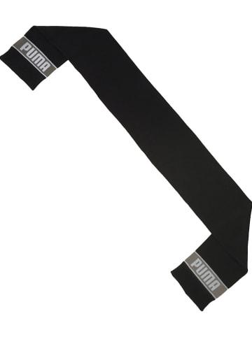 """Puma Szal """"Puma Knit"""" w kolorze czarnym"""