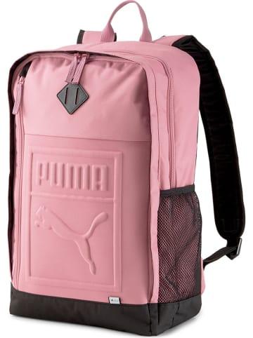 """Puma Plecak """"Puma S"""" w kolorze jasnoróżowym - 32 x 48 x 16 cm"""
