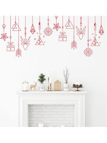 "Ambiance Wandsticker ""Christmas Wreath Garland"""