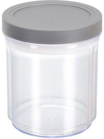 COOK CONCEPT Pojemnik w kolorze szarym - wys. 21 x Ø 11 cm