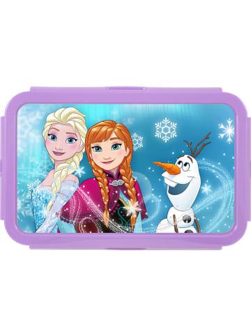 """P:os Śniadaniówka """"Frozen"""" w kolorze fioletowym - 20,5 x 7 x 13,5 cm"""