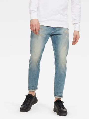 "G-Star Spijkerbroek ""Loic"" - relaxed tapered fit - lichtblauw"