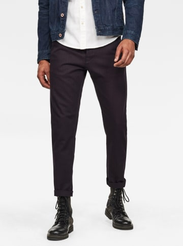 """G-Star Chinobroek """"Loic"""" - relaxed tapered fit - donkerblauw"""