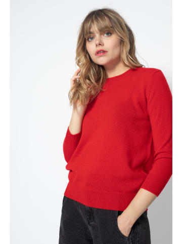"Perfect Cashmere Kasjmieren trui ""Vanessa"" rood"