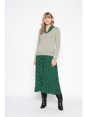 Perfect Cashmere Kaszmirowy sweter w kolorze khaki