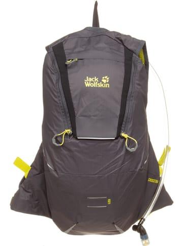 """Jack Wolfskin Plecak sportowy """"Crosstrail 12"""" w kolorze szarym - 26 x 46 x 15 cm - 12 l"""