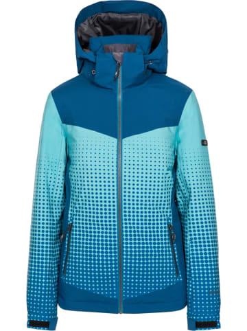 "Trespass Ski-/snowboardjas ""Zenya"" blauw/lichtblauw"