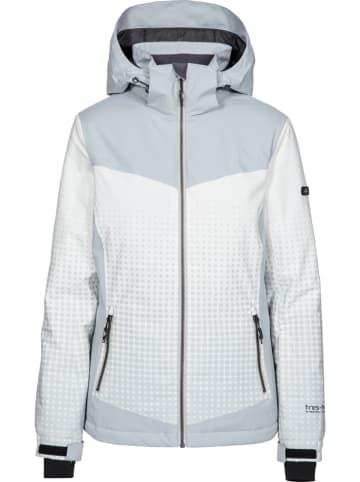 "Trespass Ski-/ Snowboardjacke ""Zenya"" in Grau/ Weiß"