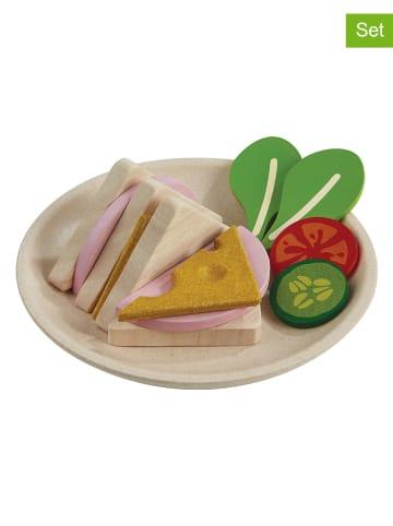 Plan Toys Drewniany zestaw do robienia kanapek - 13 el.