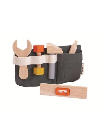 Plan Toys Pas z drewnianymi narzędziami - 8 el. - 3+