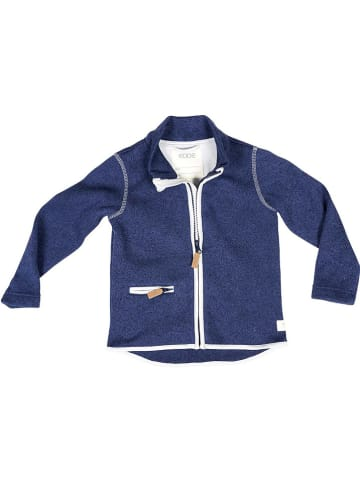 Ebbe Fleece vest donkerblauw