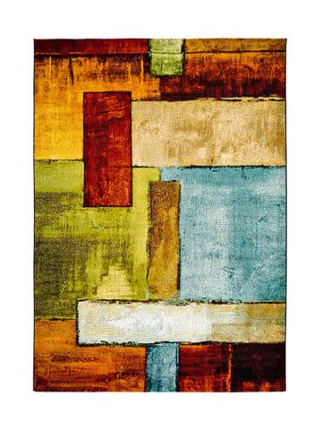 Atticgo Laagpolig tapijt meerkleurig