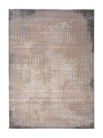 """Atticgo Laagpolig tapijt """"Seti"""" grijs/meerkleurig"""