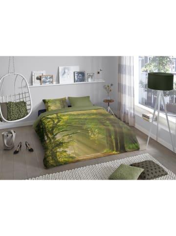 Good Morning Beddengoedset groen
