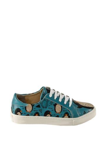 Streetfly Sneakers blauw/meerkleurig
