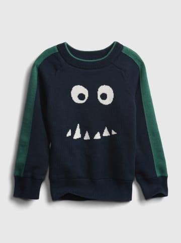 GAP Sweter w kolorze granatowym