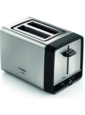 "Bosch Toaster ""Kompakt"" in Edelstahl/ Schwarz"