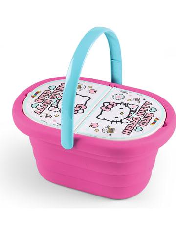 """Hello Kitty Picknickmand """"Hello Kitty"""" met accessoires - vanaf 3 jaar"""