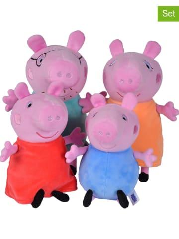 Peppa Pig 4-częściowy zestaw maskotek - 0+