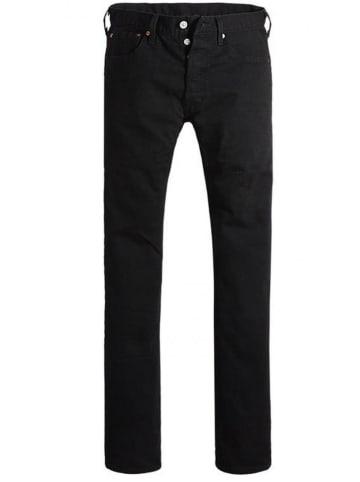 """Levi´s Dżinsy """"501"""" - Slim fit - w kolorze czarnym"""