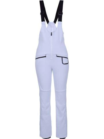 """Icepeak Softshellowe spodnie narciarskie """"Exira"""" w kolorze białym"""