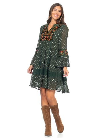 Peace & Love Sukienka w kolorze khaki