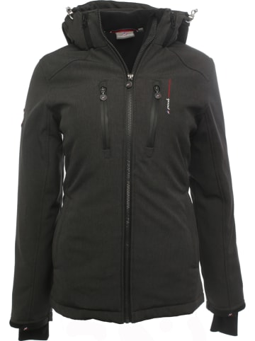 Peak Mountain Ski-/snowboardjas zwart