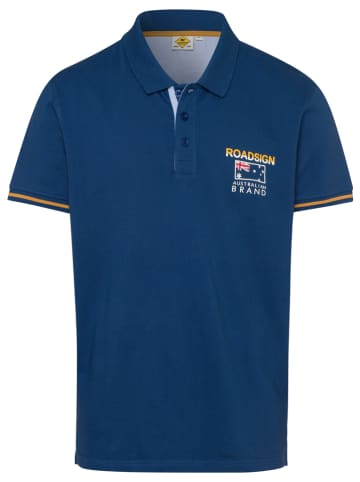 Roadsign Koszulka polo w kolorze granatowym