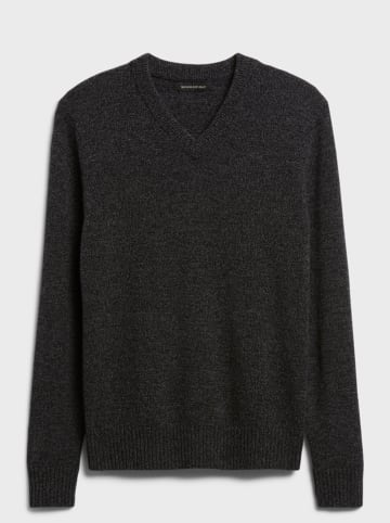 Banana Republic Wollpullover in Anthrazit