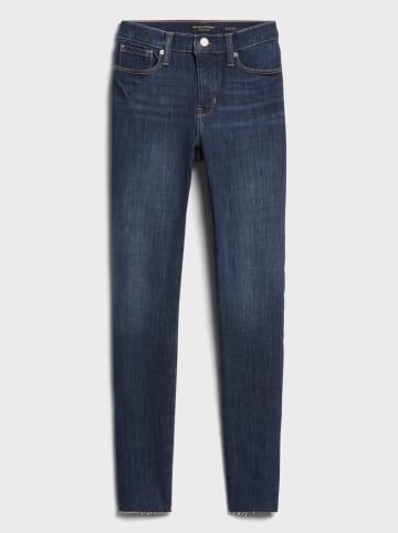 Banana Republic Spijkerbroek - skinny fit - donkerblauw