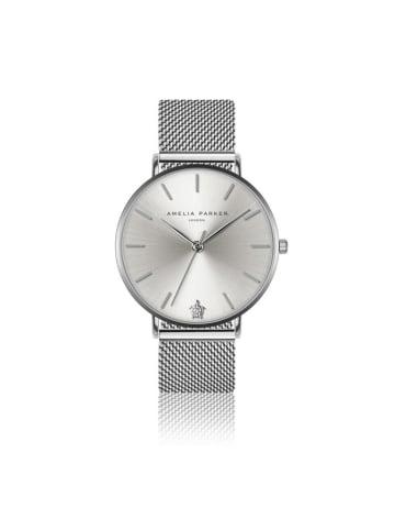 """Amelia Parker Zegarek """"AA1-B018S"""" w kolorze srebrnym"""
