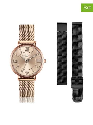"""Amelia Parker Zegarek """"SAB2-1"""" w kolorze różowego złota"""