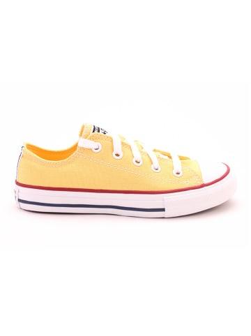 """Converse Sneakers """"Topaz"""" geel"""