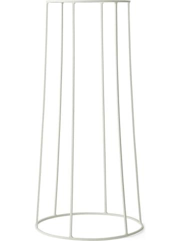 """Menu Plantenstandaard """"Wire Base"""" wit - (H)60 x Ø 23 cm"""