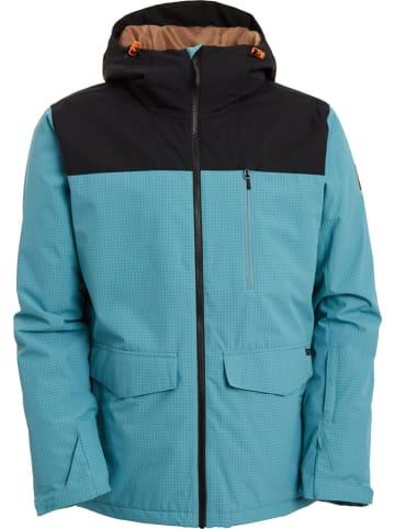 """Billabong Kurtka narciarska """"All Day"""" w kolorze czarno-błękitnym"""
