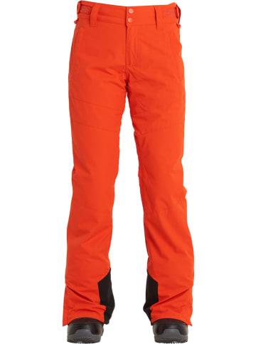 """Billabong Spodnie narciarskie """"Malla"""" w kolorze czerwonym"""