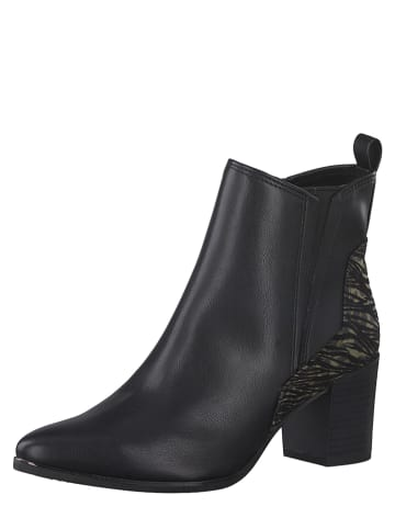 Marco Tozzi Ankle-Boots in Schwarz