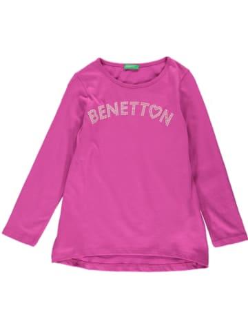 Benetton Longsleeve in Pink