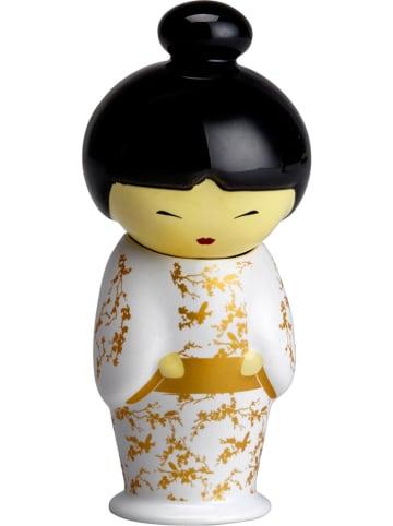 "Eigenart Theezeef ""Teafan - Geiko"" goudkleurig - (H)11,5 x Ø 5 cm"