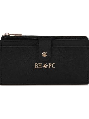 Beverly Hills Polo Club Portfel w kolorze czarnym - 17 x 10 x 2 cm