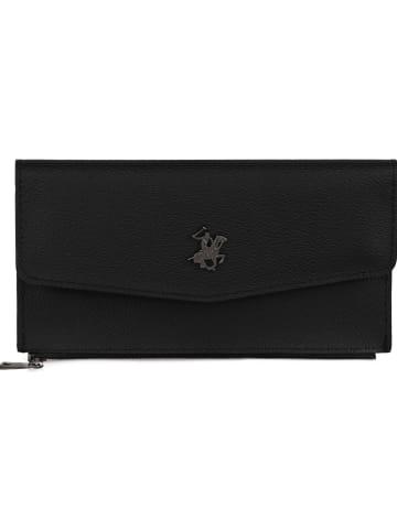 Beverly Hills Polo Club Portfel w kolorze czarnym - 19 x 7 x 1 cm