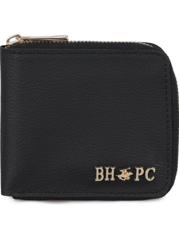 Beverly Hills Polo Club Geldbörse in Schwarz - (B)11 x (H)10 x (T)2 cm